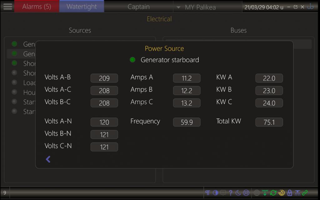 UI-X2 electrics page
