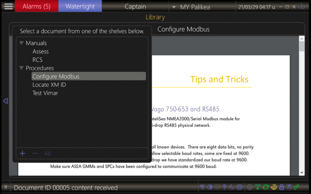 UI-X2 library page